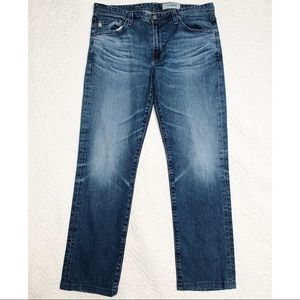 AG Adriano Goldschmied Everett Slim Straight Jeans